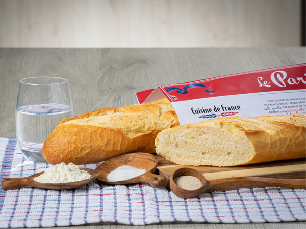 A snapshot of the Le Parisien French baguette.